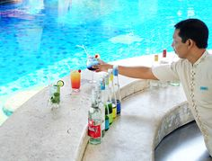 """""""Happy Hour Fiesta"""" is definitely the best hour. We've prepared it specially to pamper your stay cations!  Buy 2 get 1 free for every purchase from our beverage selections. Available daily at #CelepookPoolBar from 5 p.m. – 6 p.m.   #thetanjungbenoabeachresortbali #thetanjungbenoa #TheTaoBali #bali"""