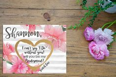 Scratch Off Will you be my Bridesmaid Card  Maid by PetalPaperCo