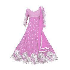 S R Fashion designer suit give you perfect look to any Girl who are really love suit it totally made by high quality of cloth materials all fabrics use by special designer instruction and now day this suit is very demanded so don\'t miss to buy it, Fashionable latest Anarkali style Dress,Dress material in Georgette with embroidery . Alterable upto size 28\