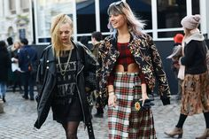 gushing over grunge. tommy ton snaps fashionistas outside the nyc fall 2014 fashion shows. Paris Fashion, Love Fashion, Fashion Show, Autumn Fashion, Fashion Tips, Fashion Trends, Fashion Weeks, Nyc Fall, Outfits Otoño