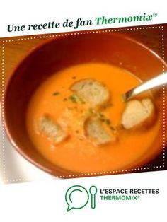 Italian tomato cream soup by cookingbea. A fan recipe to find in the Soups category on www.espace-recett …, of Thermomix®. Cooking Recipes For Dinner, Italian Dinner Recipes, Easy Soup Recipes, Healthy Chicken Recipes, Easy Cooking, Cooking Ideas, Thai Cooking, Cooking Fish, Cooking Pork