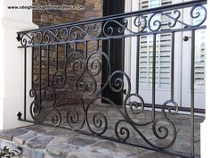 Chapel Hill NC Iron Railing Fabricator