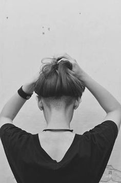 shaved nape long - Google Search