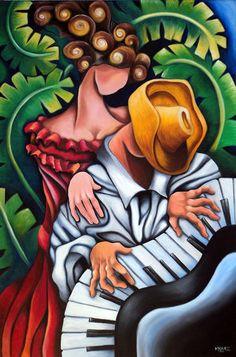 Cuban artist Dixie M.