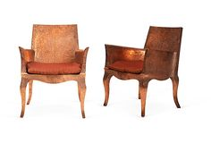 Hammered Copper Club Chair-could you use these outside and let them patina?