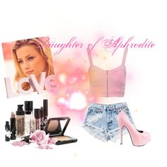 """""""Daughter of Aphrodite"""" by annikayyy on Polyvore"""