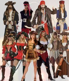 Top Pirate Costumes for Adults Ideas – Men and Women ..Aggggg, matie! this was my costume this year!