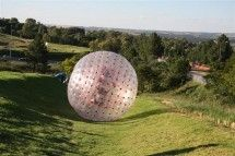 Gauteng Zorbing - Jozi X. Add this to your Bucket List and rather die laughing! Climb inside our harnessed or wet diameter Zorb ball and roll down a slope. We guarantee roll after roll after roll of excitement. To Do This Weekend, Adventure Activities, Beach Bum, South Africa, 200m, Bucket, Laughing, Imagination, Fantasy