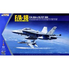 Maquette 1/48 - Boeing F/A-18A + /B/CF-188 HORNET - KINETIC
