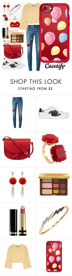 """""""Balloons in the air🎈"""" by casetify ❤ liked on Polyvore featuring Alice + Olivia, Gucci, KC Jagger, Les Néréides, Bee Goddess, adidas Originals, Casetify and Comme des Garçons"""