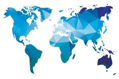 Design inspiration design bmd map illustrations office design 10 world maps in different design by blue lela illustrations on creative market gumiabroncs Gallery
