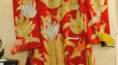 Hochzeitskimono aus reiner Seide, Japan