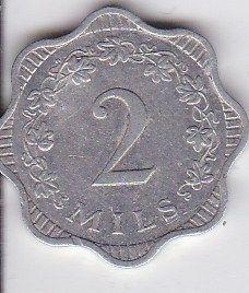 Coins Malta, set 1, 1972 years, used │ #VisitMalta visitmalta.com