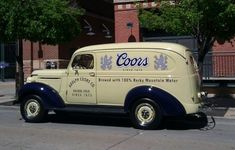 Old Coors beer truck