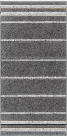 Gestreifte Handtuch Serie »Valentin« von Egeria. Sie werden diese Handtuch Serie lieben - die knalligen Farben sind der Wahnsinn und somit ein richtiger Hingucker in Ihrem Bad. Mit diesen Handtüchern und Badetüchern werden Sie jeden Morgen direkt gute Laune bekommen. Der Stoff aus reiner Baumwolle fühlt sich weich an, ist saugstark und hautfreundlich. Nach einer erfrischenden Dusche greifen Sie...