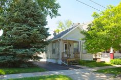 Just too Cute to miss!! Well maintained 3 bedroom ranch just blocks from the beach. You can actually see the lake from the front porch. This Move In Ready home has a large living room and eat-in kitchen with tons of cabinets. All Appliances are included. Private fenced in back yard with mature tress. House has Central Air but with the lake breezes you probably wont need it! Perfect for the first time home buyer or someone looking to downsize. This Home will pass a FHA or VA inspections!!