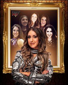 Wrestling Posters, Wrestling Divas, Women's Wrestling, Wwe Womens, Wwe Female Wrestlers, Charlotte Flair, Wwe Divas, Wwe Superstars, Evolution