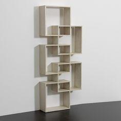 Librero Cubos Velado