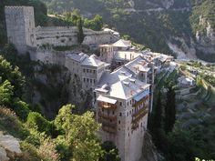 Święta góra Athos - http://janadamski.eu/2016/03/swieta-gora-athos/