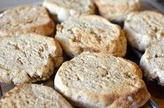 Grove scones med kesam mager (Bakekona)