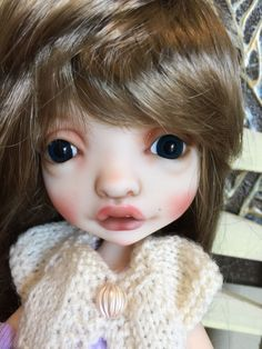 Must See!!! Sweet Pink Mystery BJD By Nefer Kane With Custom Face Up #Dolls