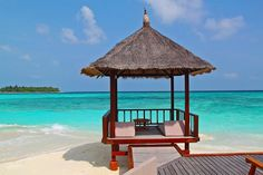 Beach Hut, Beach, Vacation