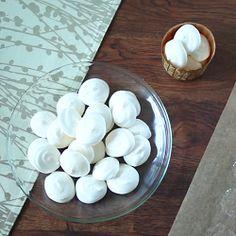 Recipe photo: Vegan meringues