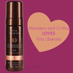 """""""My skin tone looks real, healthy. This is the best salon applied spray tan I have ever experienced."""" – April Neale from Monsters and Critics on her Vita Liberata tan from Fiona Locke! #betterthanbaking #sunlesstan #glow #vitaliberata #luxurytanning"""