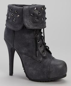 Look at this Gray Swamp Bootie on #zulily today!