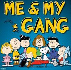 Peanuts gang cartoon via www.Facebook.com/Snoopy