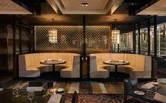 ... Pinterest  Restaurant design, Restaurant booth and Banquette seating