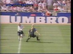 ▶ Paul Gascoigne Goal for England v Scotland at Wembley Euro 96 - YouTube