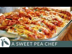 Shredded Chicken Enchiladas - A Sweet Pea Chef