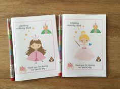 A6 Princess Design Children's Girls by DesignsbyDaisyandMax