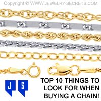 Top 10 Things to look for when buying a Chain!