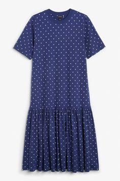 Oversized dress - Dot dot dot - Dresses - Monki GB