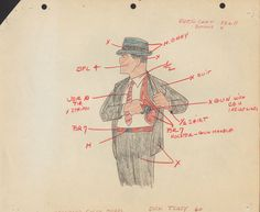 Dick Tracy in Animation Andy Devine, Alley Oop, Tex Avery, Beatnik, Vintage Cartoon, Feature Film, Vintage Paper, Hand Coloring, Comic Strips