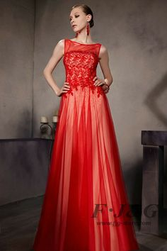 Red Beaded Backless sleeveless Party Dress 30609