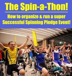 A Spin-a-Thon is another great Pledge Event option that has become really… Fundraising Ideas, Fundraising Events, Relay For Life, School Fundraisers, Spin Class, Indoor Cycling, Activity Ideas, Event Ideas, Non Profit