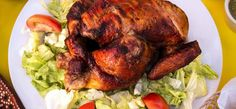 Recipe of chicken roast ? Roasted Chicken, Fried Chicken, Tandoori Chicken, Ketchup Sauce, Chicken Dressing, Stuffed Whole Chicken, Grilled Vegetables, Oven Roast, How To Cook Chicken