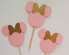 oro brillo toppers cupcake de corona cumpleaños por declanandsmith