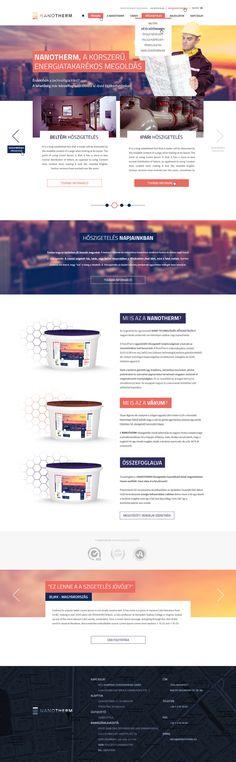 NanoTherm webpage by Zalehy