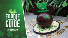 Complete Guide to St. Patrick's Day 2021 Treats at Disney Parks Whiskey Chocolate, Milk Chocolate Ganache, Chocolate Cupcakes, Mint Chocolate, Disney Food, Disney Parks, Walt Disney, Green Velvet Cake, Irish Celebration