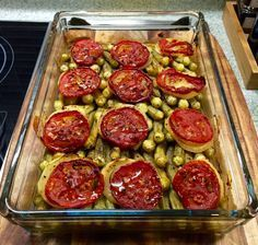 Fırında Bamya Yemeği-Okra at the oven
