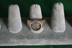 Sterling Silver Fire Fighters Rescue Ring by pasttimejewelry, $40.00