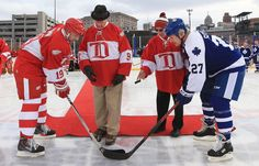 """""""He embodied on and off the ice what it meant to be both a Red Wing and a Detroiter."""" - Mike Ilitch   #9RIP"""