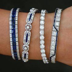 Art Deco Jewelry, Cute Jewelry, Modern Jewelry, Jewelry Bracelets, Jewelry Design, Bangle Bracelet, Bangles, Antique Jewelry, Vintage Jewelry