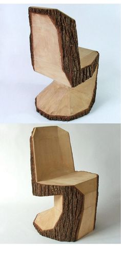 DIY Wooden Log and Slice Home Decor Ideas to Copy Right Now and Furniture # Into The Woods, Log Projects, Tree Trunks, Wood Creations, Wooden Diy, Wood Design, Design Design, Interior Design, Rustic Furniture
