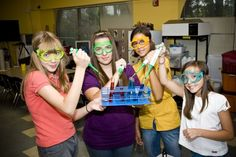 Saturday Science Club for Girls San Diego, California  #Kids #Events