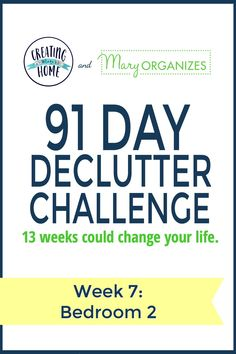 Declutter Challenge Annual Event
